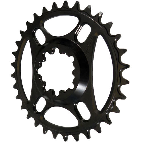 PILO 32T Narrow Wide CNC Chainring Sram Direct (6mm) fitting Black Hard Anodized