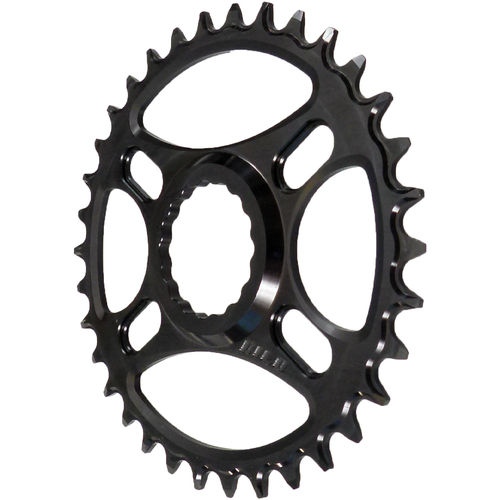 PILO 34T Narrow Wide CNC Chainring Race Face Cinch Direct fitting Black Hard Anodized