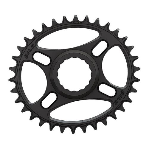 PILO 34T Narrow Wide CNC ELLIPTICAL Chainring Race Face Cinch Direct fitting Black Hard Anodized