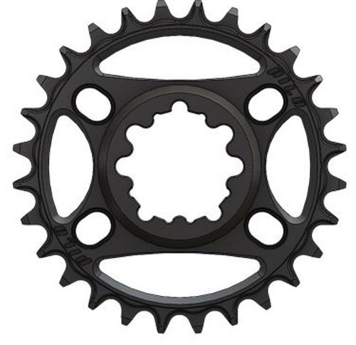 PILO 28T Narrow Wide CNC Chainring Sram Direct (3mm) fitting Black Hard Anodized