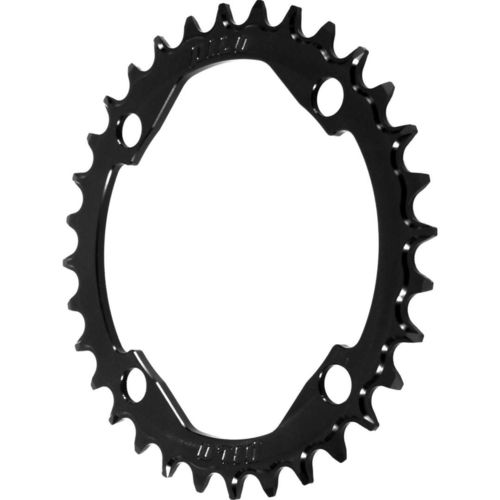 PILO 36T Narrow Wide CNC Chainring Shimano 104 BCD  Black Hard Anodized