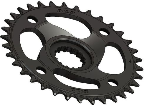 PILO 34T Narrow Wide CNC Chainring For Bosch CX Hyperglide+ Compatible